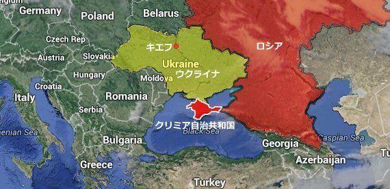 プーチン大統領、クリミアのロシア編入を表明 両者が条約に署名【ウクライナ情勢】