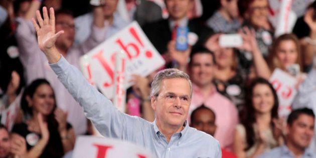 ジェブ・ブッシュ氏、米大統領選出馬を表明 共和党、前大統領の弟