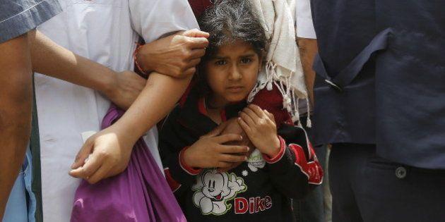 ネパール大地震で死者5000人との見方も 100万人近い子供が「深刻な被害」