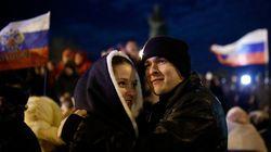 クリミア住民投票で9割がロシア編入賛成