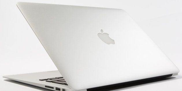 Apple Macbook Air laptop, March 6, 2012. (Photo by What Laptop magazine/Future Publishing via Getty