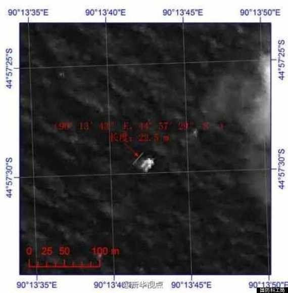マレーシア航空機、中国の人工衛星がインド洋上に浮遊物を確認