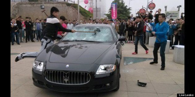 マセラティ、中国で見せしめでボコボコ・・・理由は「アフターケアがなってない」