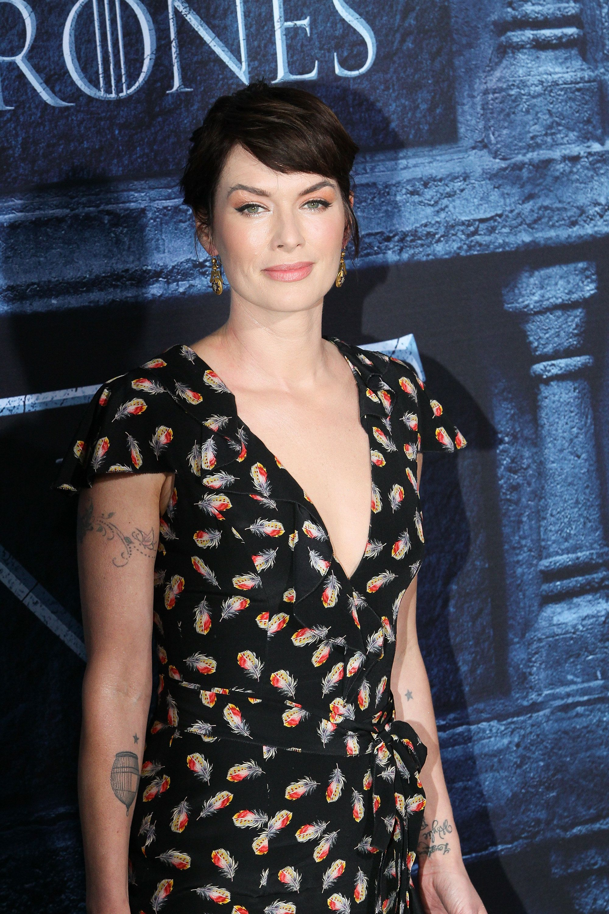 HOLLYWOOD, CALIFORNIA - APRIL 10:  Actress Lena Headey arrives at the premiere of HBO's 'Game of Thrones' Season 6 at the TCL Chinese Theatre on April 10, 2016 in Hollywood, California.  (Photo by David Livingston/Getty Images)
