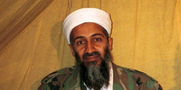 FILE - This is an undated file photo of al Qaida leader Osama bin Laden, in Afghanistan. A selection...