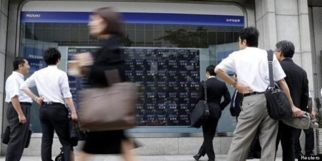 日経平均は大幅反落、下げ幅1100円超