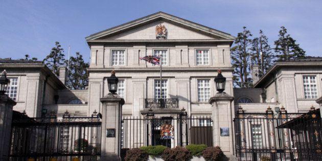 TOKYO MXのドローン、イギリス大使館