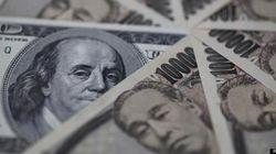 ドル、対円で約4年ぶりに100円突破