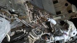 ISS、アンモニア漏出で船外活動
