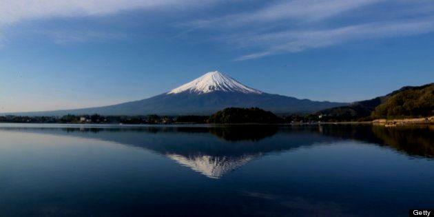 Mt. Fuji and Lake