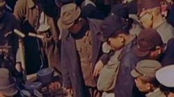 「原爆投下から数カ月後の広島」カラー映像(動画)