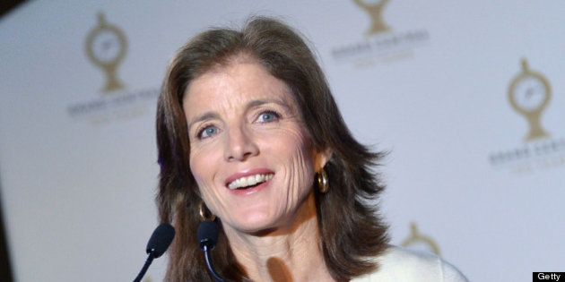 NEW YORK, NY - FEBRUARY 01: Caroline Kennedy attends Grand Central Terminal 100th Anniversary Celebration...