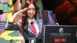 東京ゲームショウ2013、会場を彩るコンパニオン