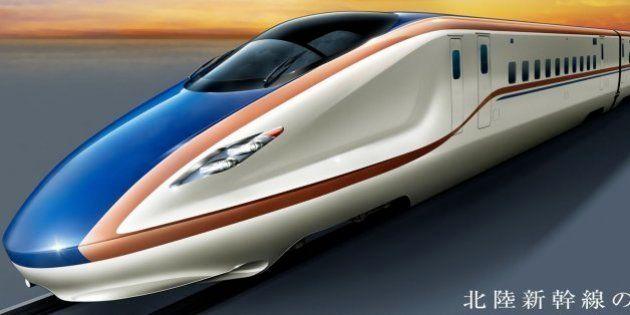 北陸新幹線の名称決まる、最速は「かがやき」