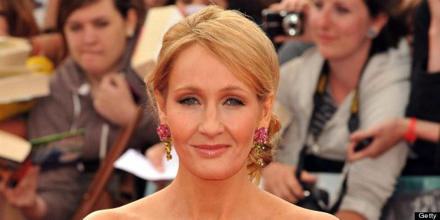 LONDON, ENGLAND - JULY 07: JK Rowling attends the world premiere of 'Harry Potter And The Deathly Hallows...