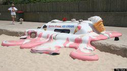 アートになったアイスクリーム:ギャラリー