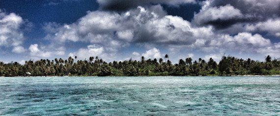 ボラボラ島の美しい写真で