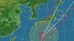 台風26号「10年ぶりの強さ」16日朝に関東上陸の恐れ
