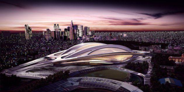 新国立競技場、奇抜すぎて異論噴出 2020年東京オリンピックのメイン会場