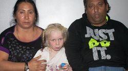 ロマ居住地で発見された謎の白人少女