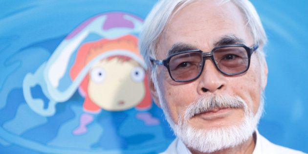 HOLLYWOOD - JULY 27: Director Hayao Miyazaki arrives to the special screening of 'Ponyo' held at the...