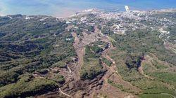 伊豆大島・台風26号被災後の写真をGoogleが公開