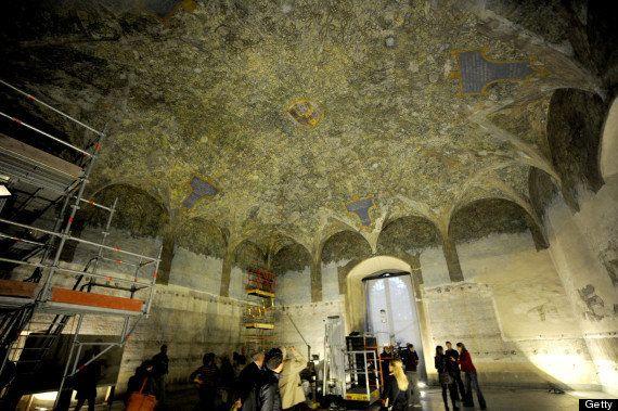 ダ・ヴィンチの隠された壁画発見