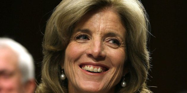 WASHINGTON, DC - SEPTEMBER 19: Caroline Kennedy smiles during her Senate Foreign Relations Committee...