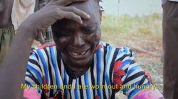 スーダン軍の無差別爆撃を記録した動画