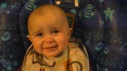 ママの歌に感極まって泣く赤ちゃん(動画)