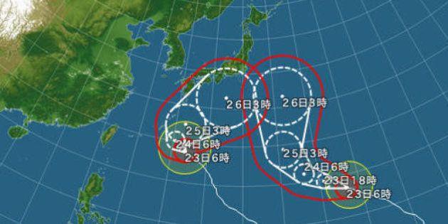 台風、なぜ今年多い? 27号接近で10月最多