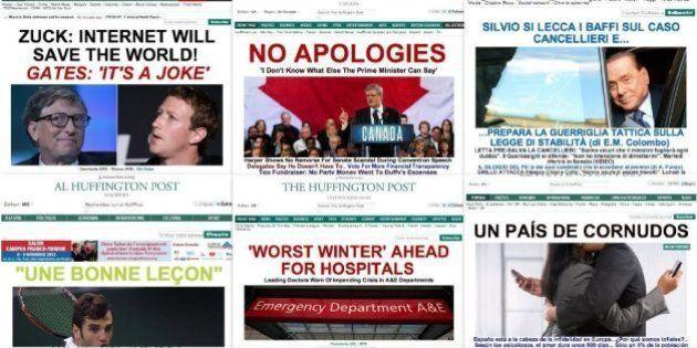 ザッカーバーグ「インターネットは世界を救う!」ゲイツ「冗談でしょ」 / ハフィントンポスト本日のスプラッシュ