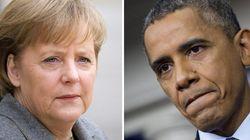 ドイツのメルケル首相、アメリカ情報機関が通話を盗聴か