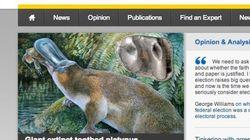 巨大カモノハシの化石、オーストラリアで発見