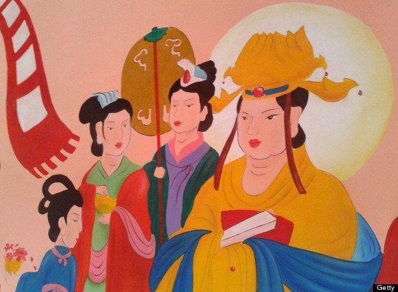 中国、清朝時代の壁画で「修復の悲劇」