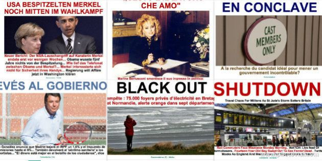 イギリス、フランスがハリケーン並みの嵐で大規模停電 / ハフィントンポスト本日のスプラッシュ