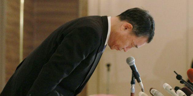 阪急阪神ホテルズ「偽装と受け取られても仕方ない」出崎弘社長が辞任表明