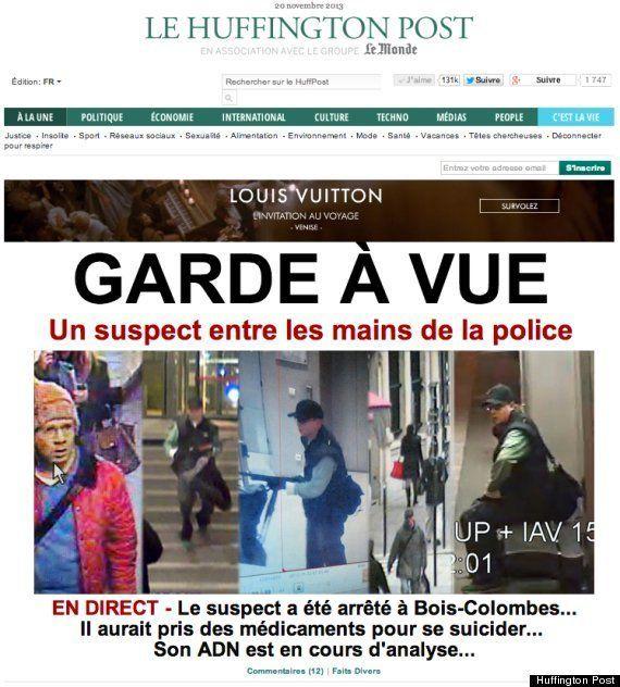 パリ銃撃事件の容疑者、逃走3日目で逮捕 メディアと金融機関を散弾銃で襲撃 /