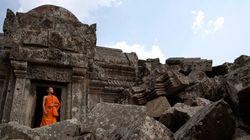 世界遺産「プレアビヒア」周辺はカンボジア領と認定