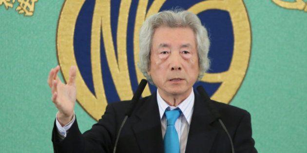 小泉純一郎元首相に「よくぞ言ってくれた」