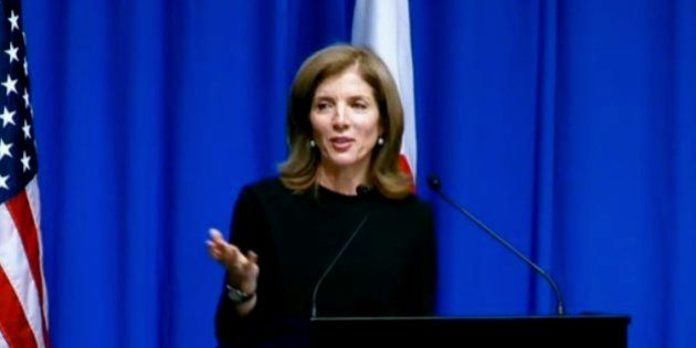 キャロライン・ケネディ駐日米大使がスピーチ会見 ニコニコ生放送がライブ配信