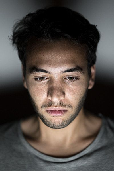 ネット世界に入りこんでいるときのあなたの顔:写真集