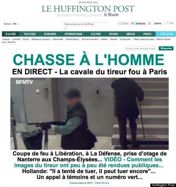 パリ市内で銃撃事件 散弾銃を持った男が新聞社や銀行を襲撃 一人重体 /