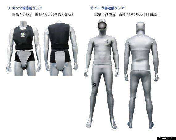 大阪メーカーが開発した「放射線を遮る作業服」