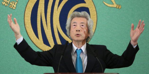 小泉純一郎元首相、原発推進派に反論