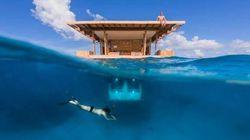 「海中に泊まれるホテル」がオープン:タンザニア沖