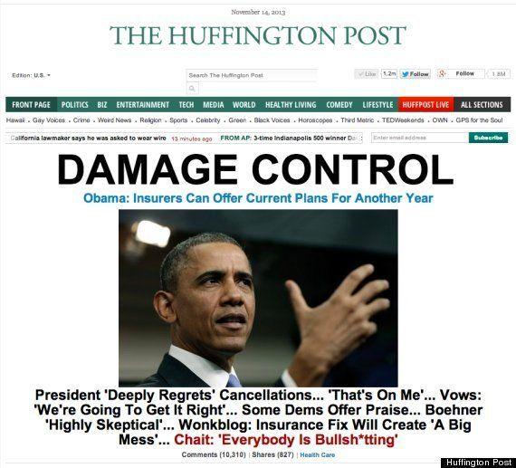 オバマケア、ついに軌道修正へ オバマ大統領が記者会見で表明 /
