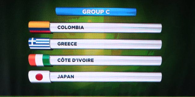 ブラジルワールドカップ組み合わせ