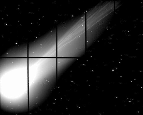 ラブジョイ彗星の「鮮明な尾」