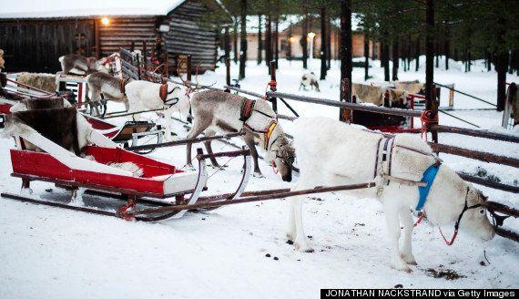 フィンランドにあるサンタクロースの故郷(写真集)